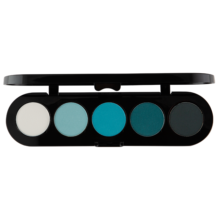 Atelier Paleta de 5 Sombras T11 (Blue Green) - The Make Up Center