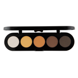 Atelier Paleta de 5 Sombras T14 (Golden Bronze) - The Make Up Center