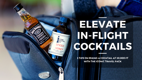 travel mixers for in flight cocktails