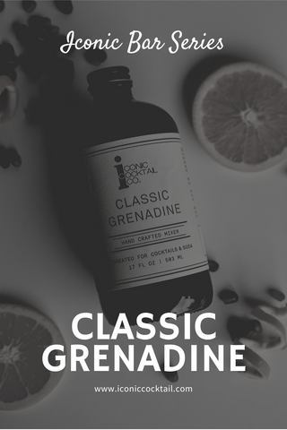Iconic Cocktail Co Classic Grenadine Cocktail Syrup