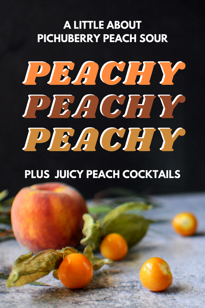 Pichuberry Peach Sour Cocktails
