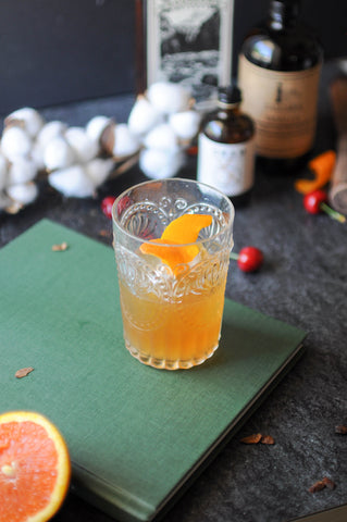 Cascara Vanilla Old Fashioned