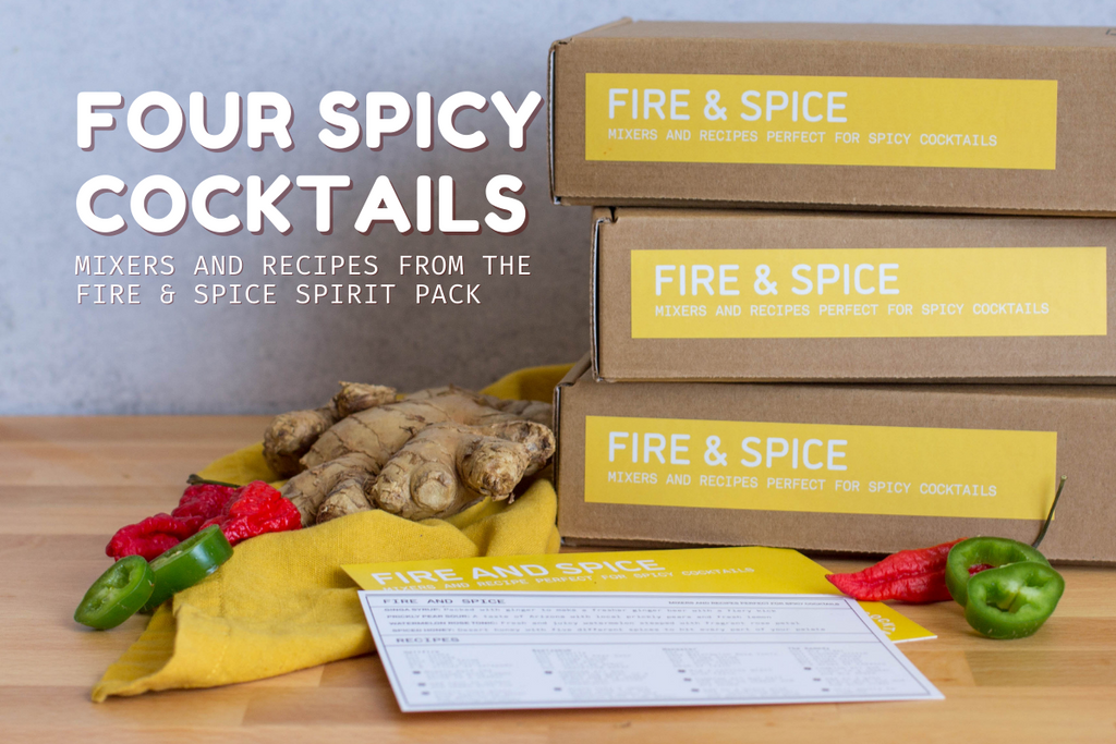 The Fire and Spice Pack is designed to highlight Iconic Ginga Syrup. In this seasonally special Spirit Pack, you will find four mixers that perfectly complement one another for a well balanced, spicy cocktail!