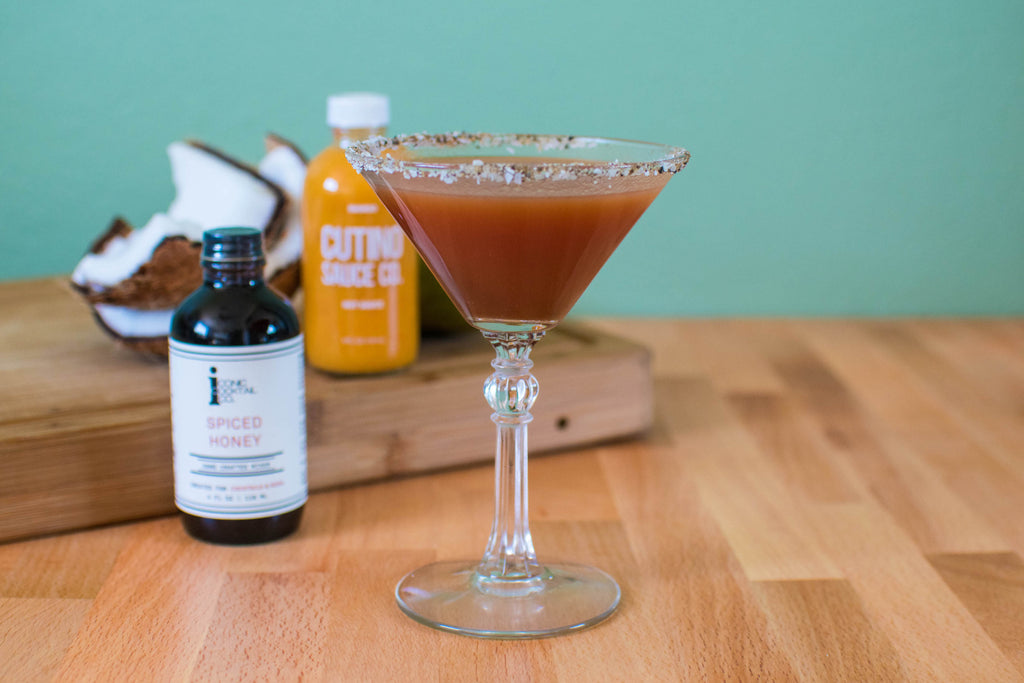 A new bloody mary to make with Cutino Hot Sauce and Iconic Cocktail Co