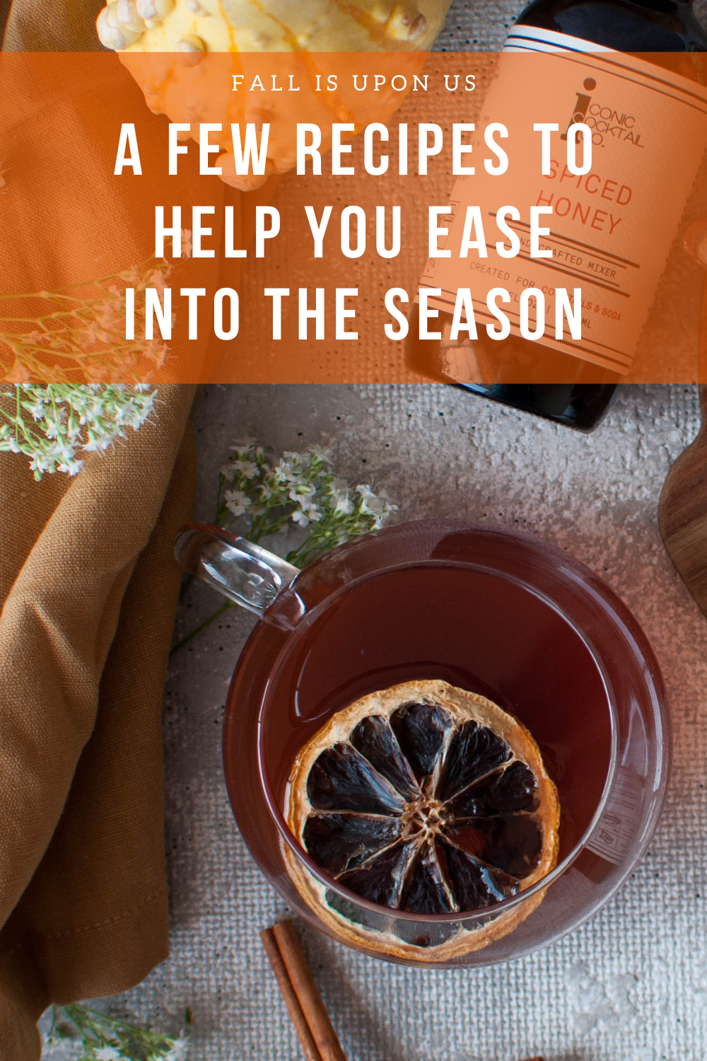 A few recipes to help you ease into the sesaon