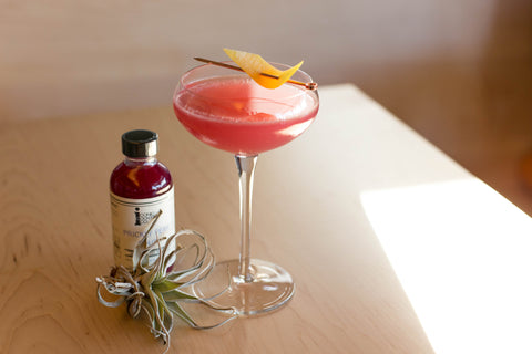 Prickly Pear Mezcal Sour