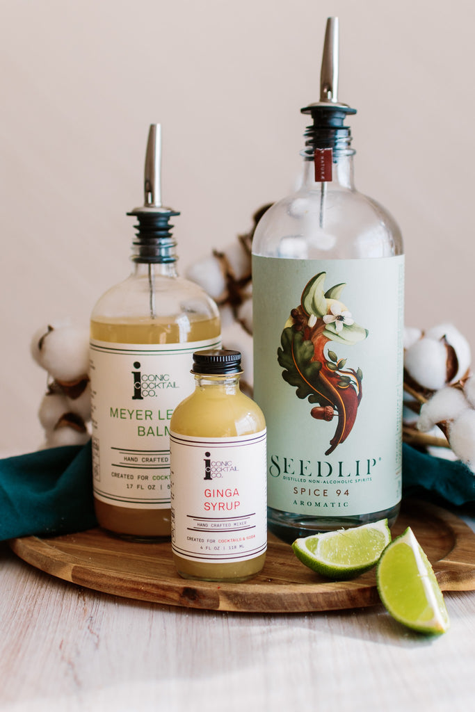 Craft a Non-Alcoholic Moscow Mule with Iconic Ginga Syrup and Seedlip Spirits