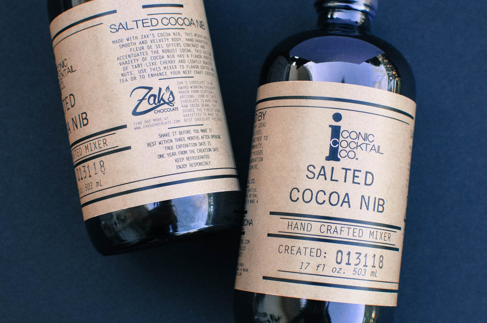 Iconic Cocktail Co Salted Cocoa Nib