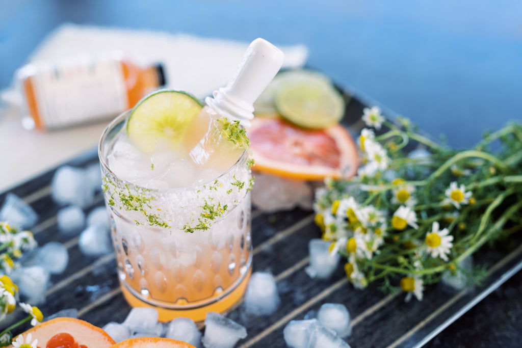 Make Grapefruit Fleur de Sel Popsicles for a simple summer time treat. Keep them as a mocktail or add to tequila for a Paloma!