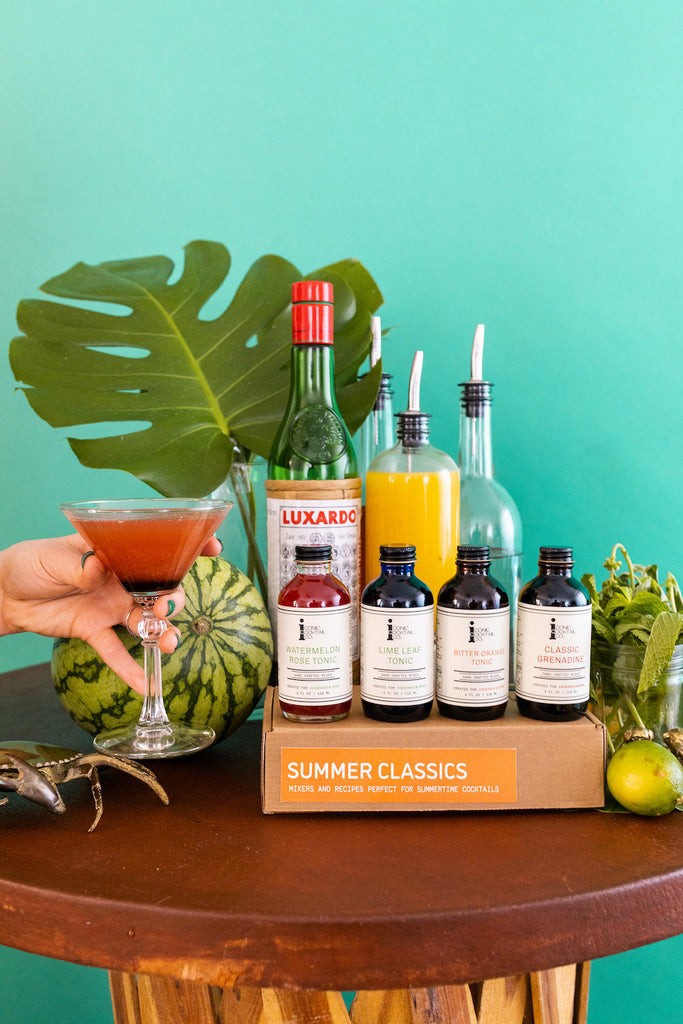 A take on the Hemingway Daiquiri but with pineapple instead of grapefruit juice with Iconic Classic Grenadine