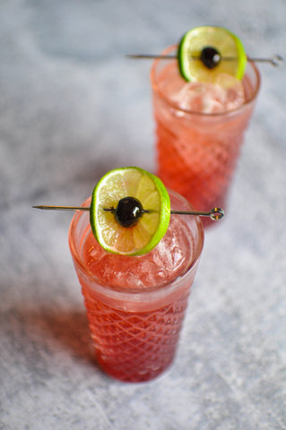 Iconic Shirley Temple cocktail with Iconic Classic Grenadine