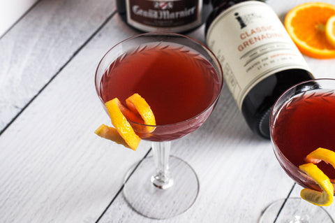 Classic Grenadine Leap Year Cocktails