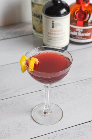 Classic Grenadine Leap Year Cocktail