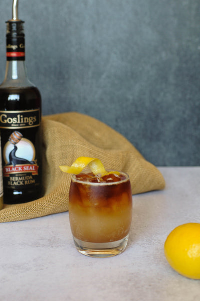 The beloved Dark & Stormy only deserved the best. Instead a ginger beer, give Iconic's handcrafted, small batch ginger syrup a try. Find Iconic Ginga Syrup online at time of year!