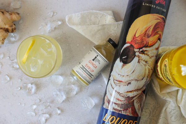 Pair a ginger syrup with unique liqueurs that you haven't tried before like this Strega cocktail. Be sure to try Iconic Cocktail Co.'s Ginga Syrup for any fiery cocktail you desire!