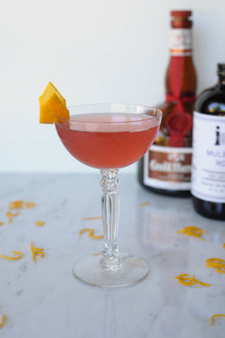 Cosmo recipe with Iconic Mulberry Rose