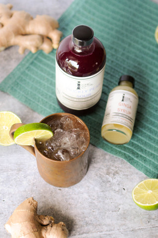 Prickly Pear Moscow Mule