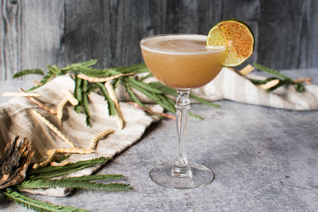 A margarita made with Iconic Mesquite