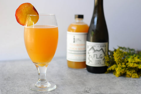 cider shandy recipe pichuberry peach sour