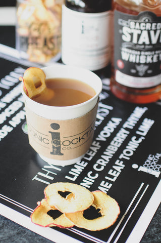 Iconic Cocktail Co PHX Pheast Hot Apple Cider Spiced Honey