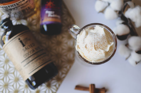 Spiked Hot Cocoa Hot Toddy cocktail recipe by Iconic Cocktail Co.