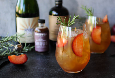 Arizona Sparkling Wine cocktail with Iconic Cocktail Co.