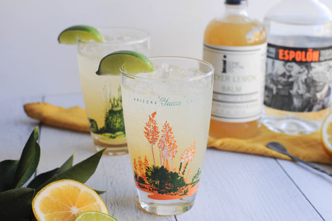 Iconic Cocktail Co Classic Margarita with Meyer Lemon Balm