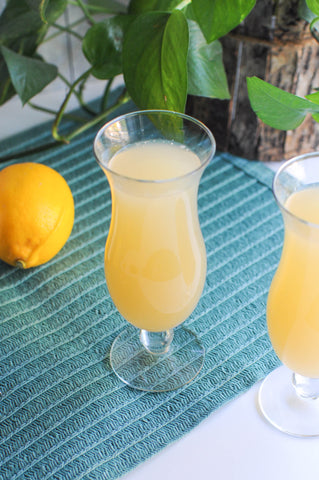 Iconic Cocktail Co. Mimosa Recipe with Iconic Meyer Lemon Balm