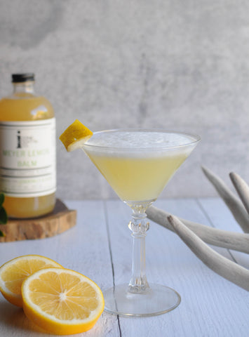 Whiskey Sour with Iconic Meyer Lemon Balm Classic Recipe