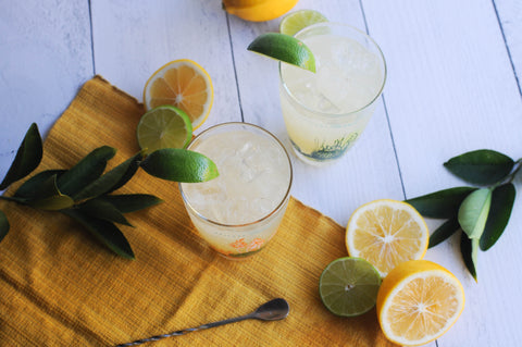 Classic Margarita made with Iconic Meyer Lemon Balm by Iconic Cocktail Co