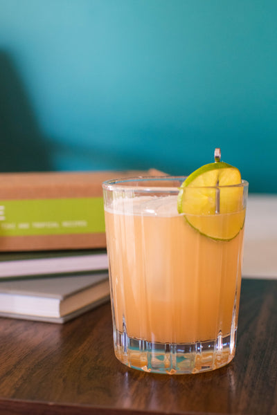 Suffering from a hangover? This Tiki cocktail has it all. A well made ginger syrup is the remedy you didn't know you needed. Be sure to try Iconic Cocktail's handcrafted cocktail mixer in your next tiki cocktail!