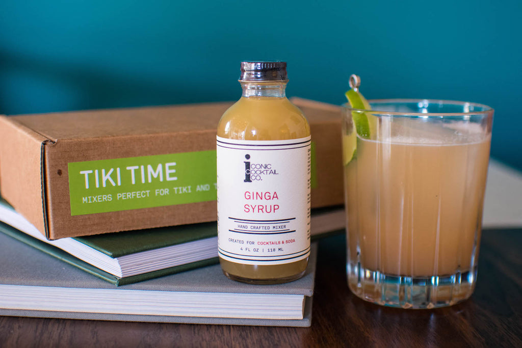 Make a Suffering Baster cocktail with Iconic Ginga Syrup for an ultimate Tiki experience! Find all the right tiki flavors in one place with the Iconic Tiki Spirit Pack.