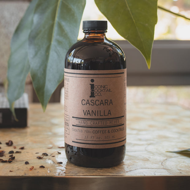 cascara vanilla simple syrup