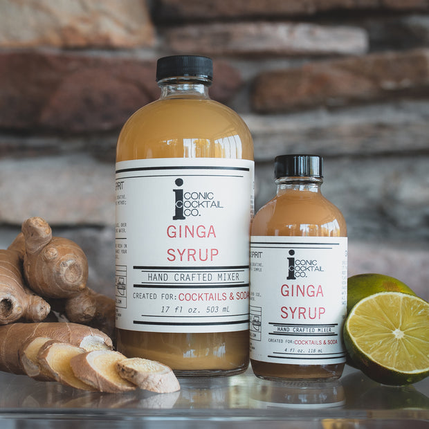 ginger beer syrup for moscow mule