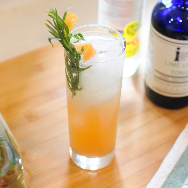 Grapefruit Tarragon Tonic Sparkling Soda