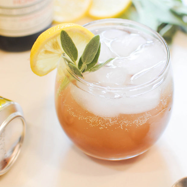 Honey Sage Apple Sparkling Soda