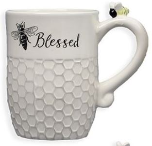 Bitchin' Kitchen - Ceramic BEE Blessed Mug