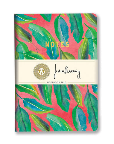 Studio Oh! - Botanical Collection Notebook Trio by Justina Blakeney