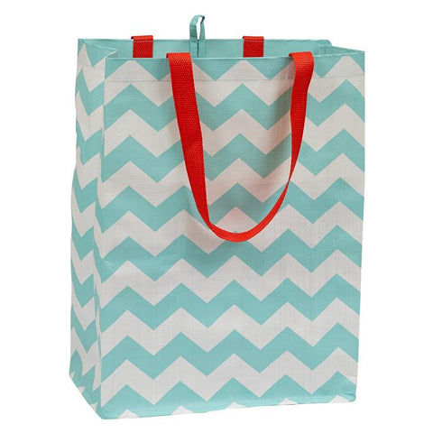Sustainability - Reusable Shopping Tote - Chevron