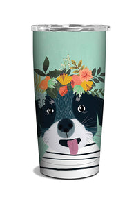 Studio Oh! - Fancy Dog Insulated Stainless Steel Tumbler by Mia Charro