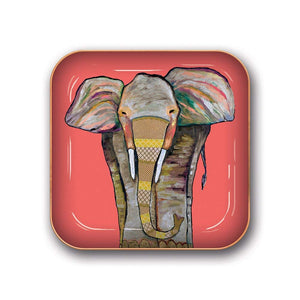 Studio Oh! - ELEPHANT - Small Metal Catchall Tray by Eli Halpin
