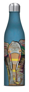 Studio Oh! - Majestic ELEPHANT - 25 oz. Insulated Stainless-Steel Water Bottle by Eli Halpin