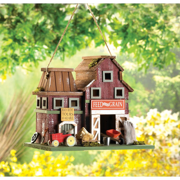 Two Charmed Gals Farmstead Birdhouse