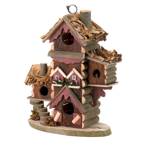 Two Charmed Gals Gingerbread House Birdhouse