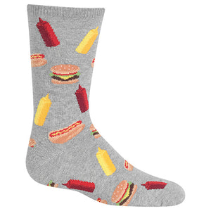 Two Charmed Gals Kid's BBQ Crew Socks