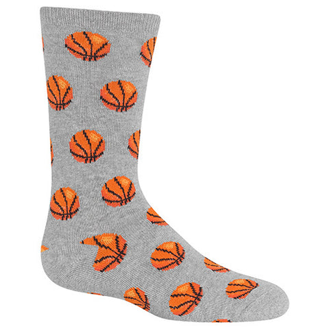Two Charmed Gals Kid's Basketball Crew Socks