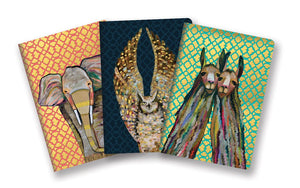 Studio Oh! - Majestic Animals Notebook Trio by Eli Halpin