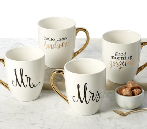 Two Charmed Gals Mr. and Mrs. Mug Set