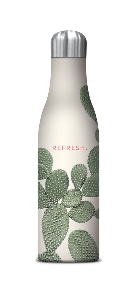 Studio Oh! - Refresh - 17 oz. Insulated Stainless-Steel Water Bottle