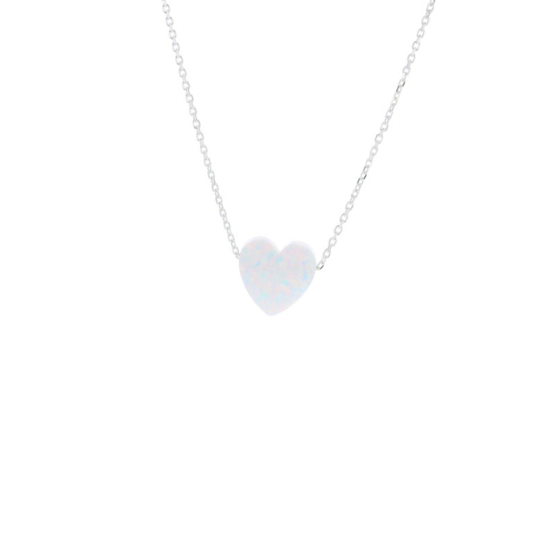Lotus Jewelry Studio Silver Heart Glow Necklace